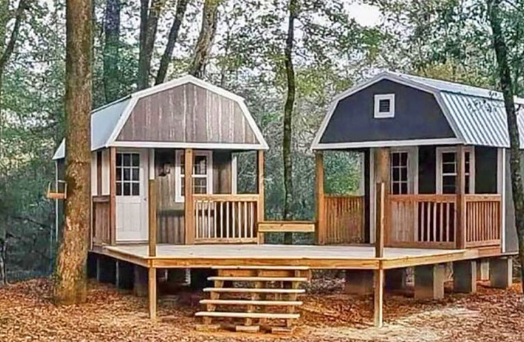 The 'We-Shed' Is a Dual Shed For Him and Her In Amarillo